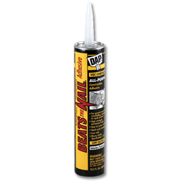 Picture of DAP DYNAGRIP BEATS THE NAIL CONSTRUCTION ADHESIVE VOC - 10.3 OZ.