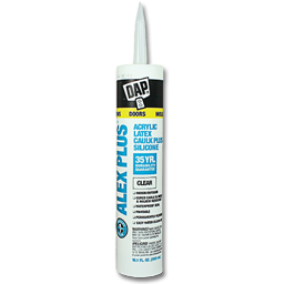Picture of DAP ALEX PLUS LATEX CLEAR CAULK - 10.1 OZ.