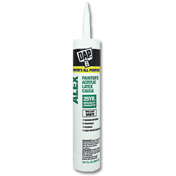 Picture of DAP ALEX ACRYLIC LATEX WHITE CAULK - 10.1 OZ.