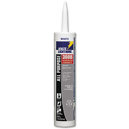 Picture of WHITE LIGHTNING 3006 WHITE CAULK - 10 OZ.