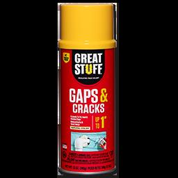 GREAT STUFF GAPS & CRACKS INSULATING FOAM-12 OZ