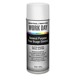 Picture of KRYLON WORKDAY GLOSS WHITE SPRAY PAINT - 10 OZ.