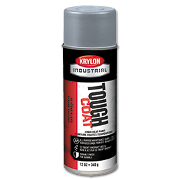 Picture of KRYLON TOUGH COAT HI-HEAT ALUMINUM SPRAY PAINT
