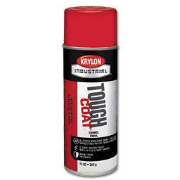Picture of KRYLON TOUGH COAT OSHA RED SPRAY PAINT - 12 OZ NET