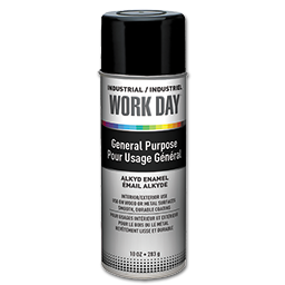 Picture of KRYLON WORKDAY FLAT WHITE SPRAY PAINT - 10 OZ.