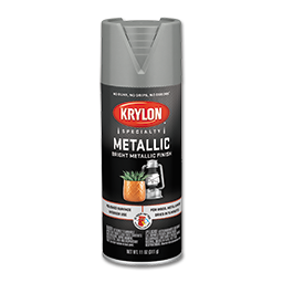 Picture of KRYLON METALLIC CHROME SILVER SPRAY PAINT - 12 OZ.