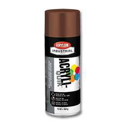 Picture of KRYLON LEATHER BROWN 5 BALL SPRAY PAINT - 12 OZ.
