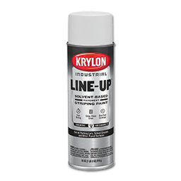 KRYLON LINE UP PARKING LOT STRIPING PAINT - WHITE