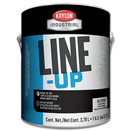 Picture of KRYLON LINE UP STRIPING PAINT WHITE - GALLON