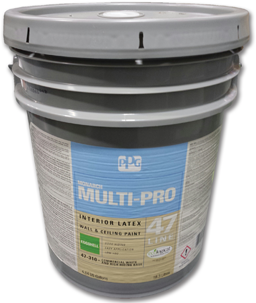 Picture of PPG INTERIOR LATEX EGGSHELL WHITE PAINT- 5 GALLON