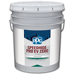 Picture of PPG SPEEDHIDE PRO-EV ZERO INTERIOR FLAT PASTEL/WHITE PAINT- 5 GALLON