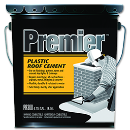 Picture of PREMIER PLASTIC ROOF CEMENT - 4.75 GALLON