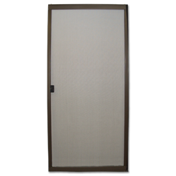 "Picture of 36"" BRONZE EXPANDING STEEL PATIO SCREEN DOOR"