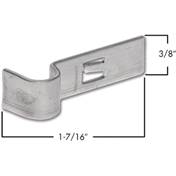Picture of WSL-SLIDE LATCH CLIP - 25/PK