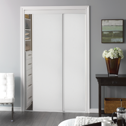 Picture of VINYL PANEL BYPASS DOOR WHITE- 72""