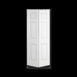 """32"""" 6 PANEL MOLDED BIFOLD DOOR"""