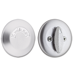 Picture of KWIKSET ONE-SIDED DEADBOLT WITH BACKPLATE - SATIN CHROME