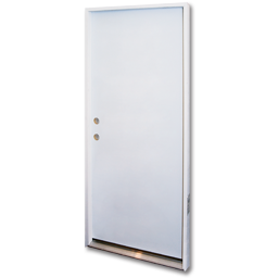 "Picture of 36"" X 6' 8"" PREHUNG FLUSH STEEL DOOR RHIS"