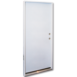 "Picture of 36"" X 6' 8"" PREHUNG FLUSH STEEL DOOR LHIS"