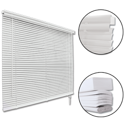 Picture of ALUMINUM MINI BLIND 96X72 - ALABASTER