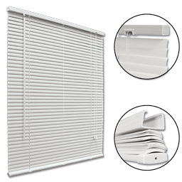 Picture of MINI BLIND 63X60 - WHITE
