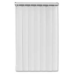 "Picture of 23"" VERTICAL BLIND STEEL HEADRAIL - WHITE"