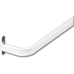 "Picture of STANDARD CURTAIN ROD 28""- 48"" - WHITE"