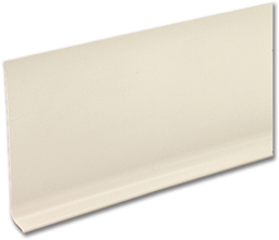 """Picture of ALMOND VINYL WALL COVE BASE - 4"""" X 120' ROLL"""