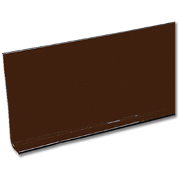 """Picture of BROWN VINYL WALL COVE BASE - 4"""" X 120' ROLL"""