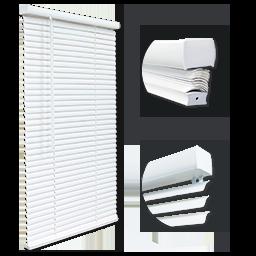 CORDLESS MINI BLIND 1.5 HEADRAIL - 52X60 - WHITE